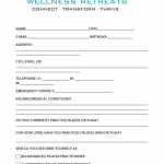 retreat intake form image